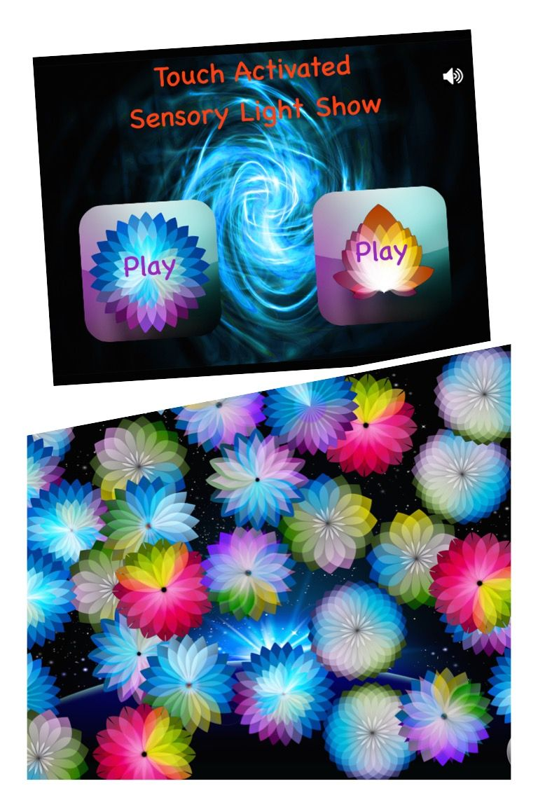 Touch Activated Sensory Light Show Play the 'Touch