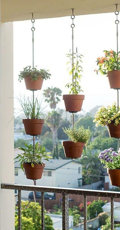 Subsrecipes: Wonderful Small Apartment Balcony Decor Ideas with Beautiful Plant #decorideas #apartementdecor