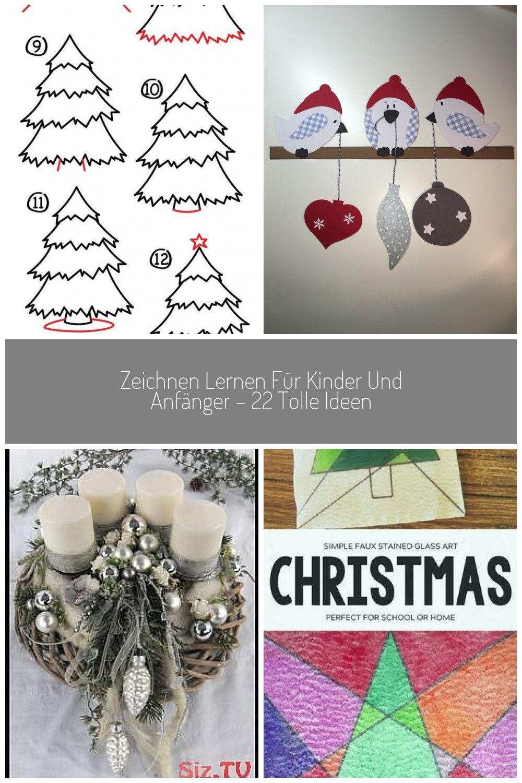zeichnen lernen ausmalbilder weihnachten winterbilder