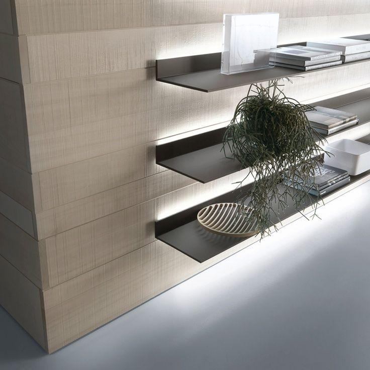 77 Really Cool Living Room Lighting Tips Tricks Ideas: 40 Floating Shelves For Every Room!