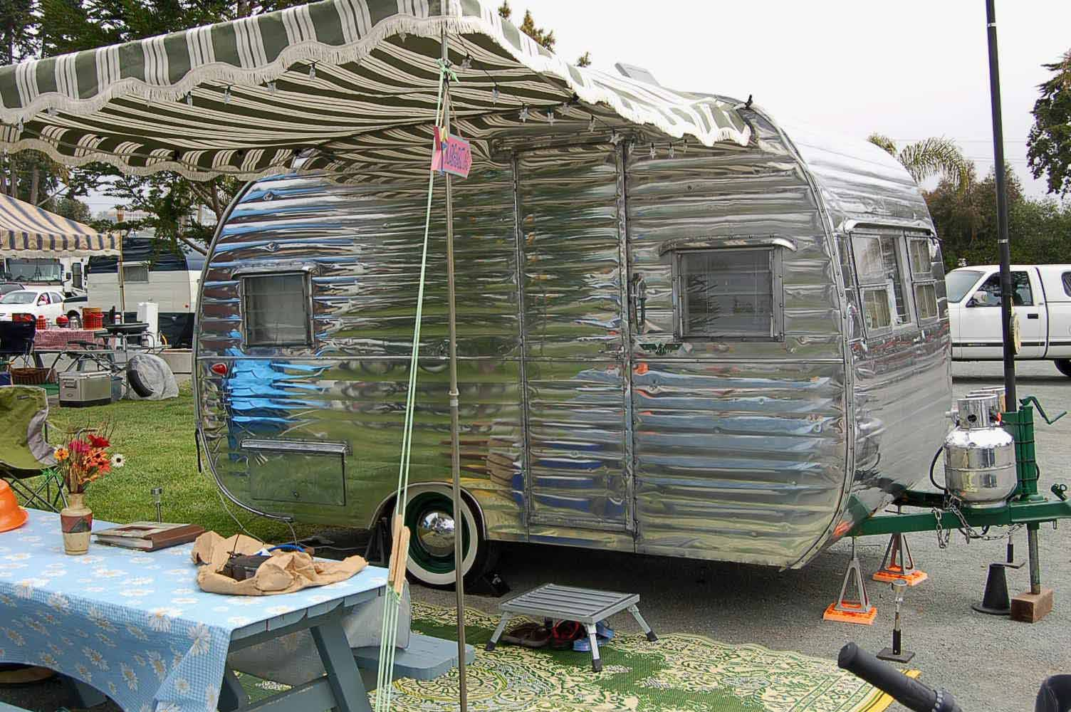 Vintage Deville Trailer Vintage Trailer Awnings From