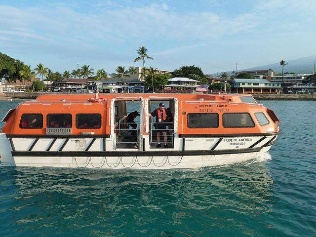 Pride Of America Tender Boat Pride Of America Cruise Ships Norwegian Best Cruise