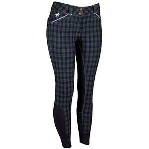 SmartPak Piper Plaid Full Seat Breeches *Midnight Navy Plaid *Size ...