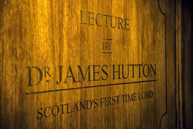 Scotland's Timelords #DrJamesHutton #DynamiEarth