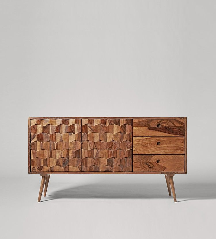 Swoon Editions Sideboard, mid-century style in rosewood - £499