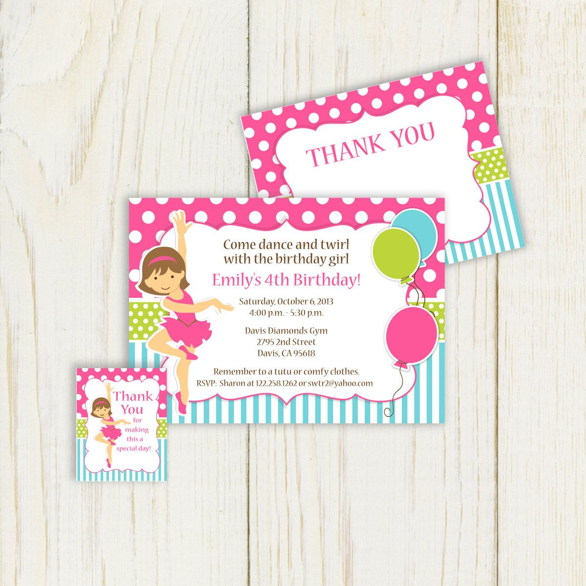 Dance Party Invitation Printable Printable by eloycedesigns, $12.00 ...