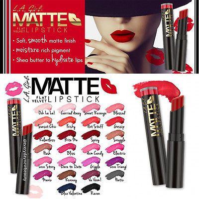 Son Thỏi La Girls Matte Flat Velvet Lipstick Moi