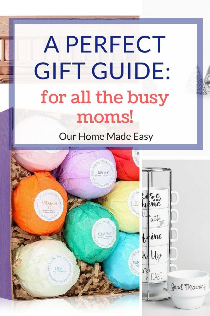 Gift guide 10 great ideas for super busy moms gift