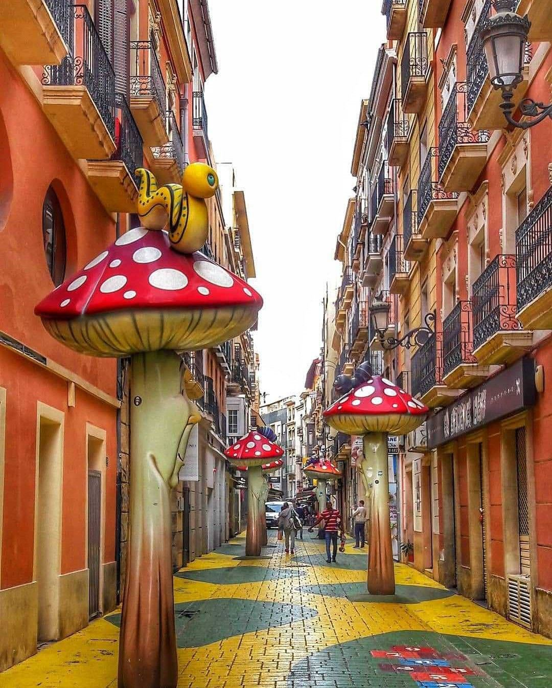 Calle De Las Setas Spain Best Travel Insurance Alicante