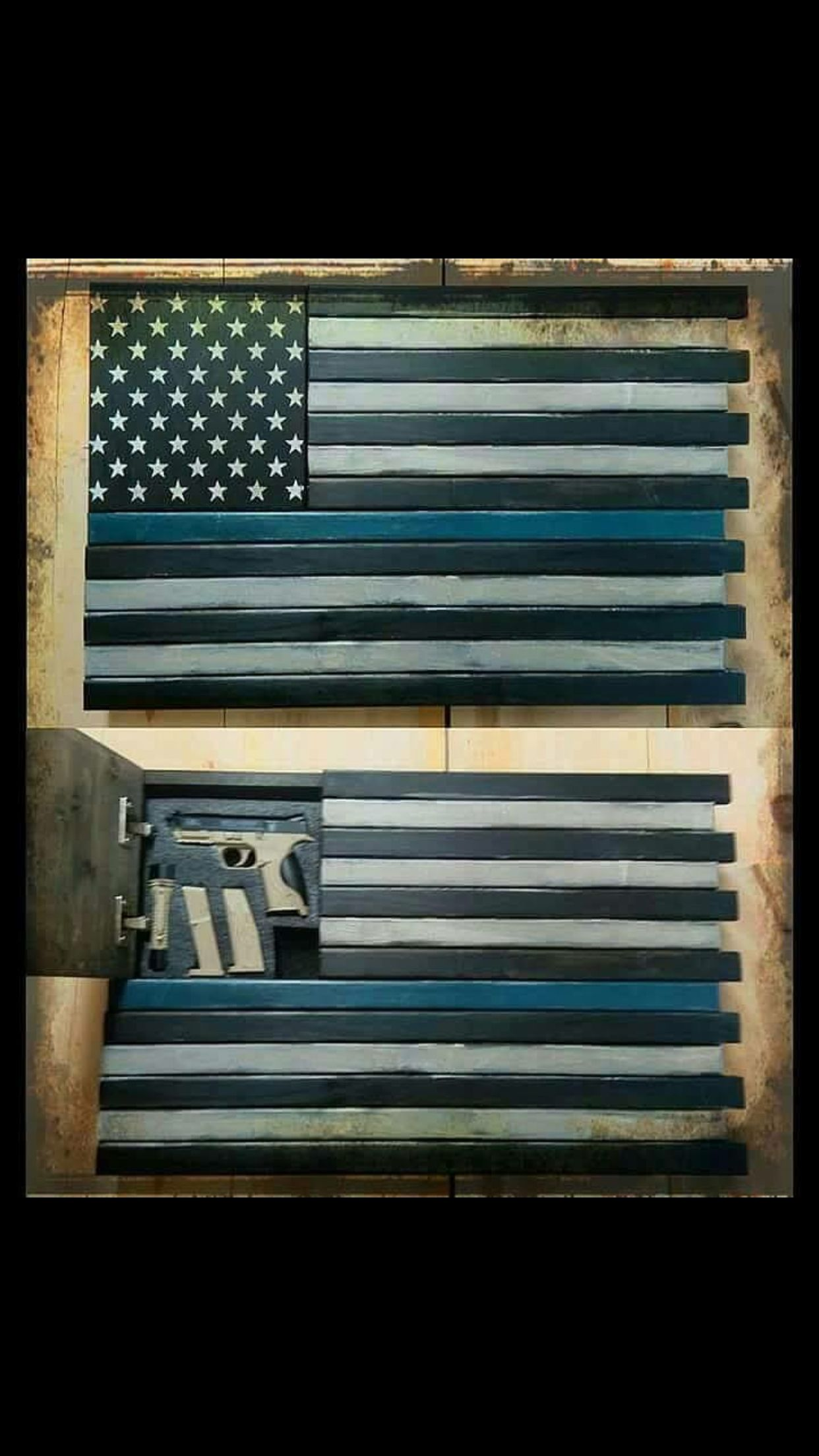 Hidden Weapons In The American Flag Projects In 2019
