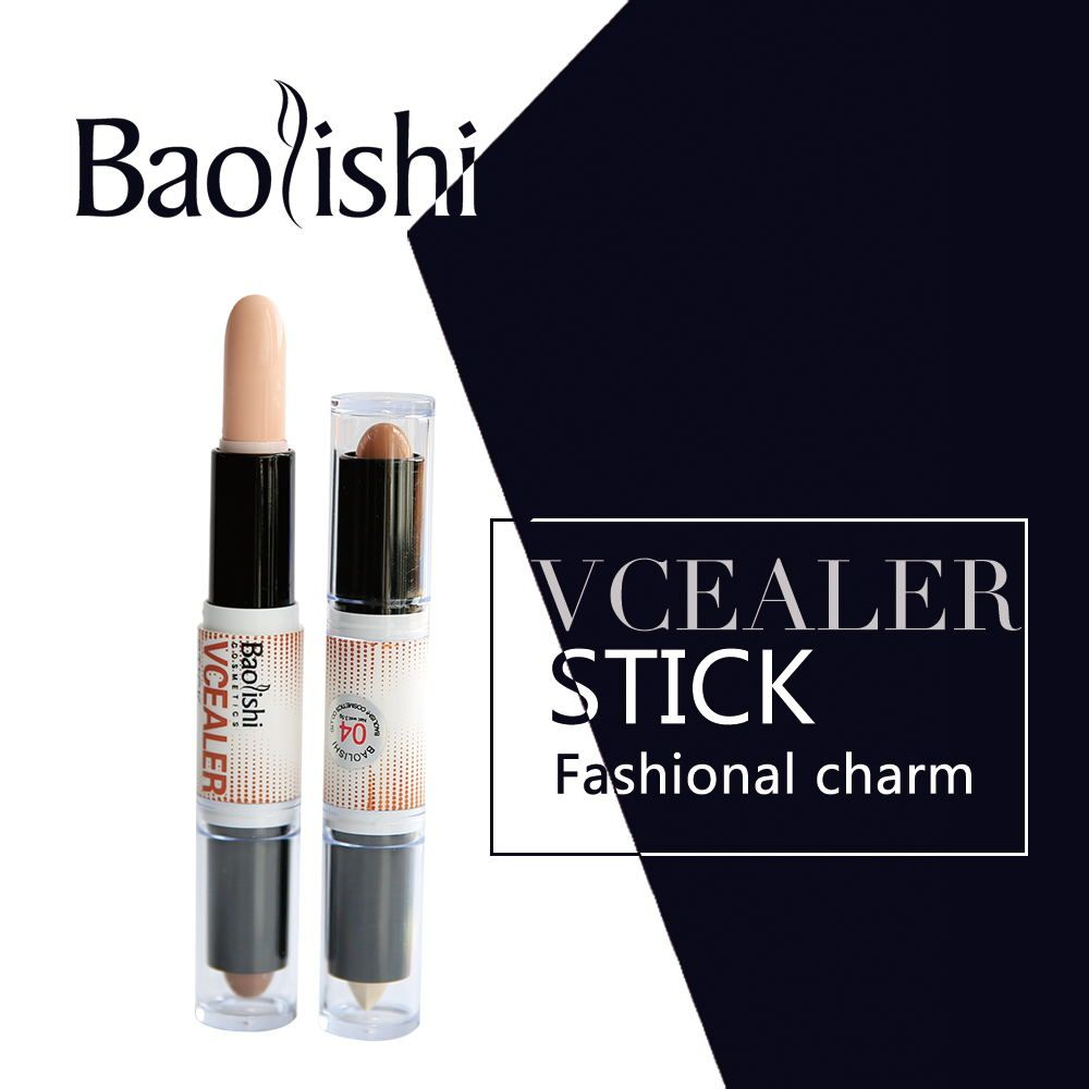 Baolishi Easy To Wear Double Head Two Colors Brand Bronzers Novo Eyeshadow Tone Original Highlighters Texture Creamy Waterproof Kit Brightening For Makeup Price Us 455 Free