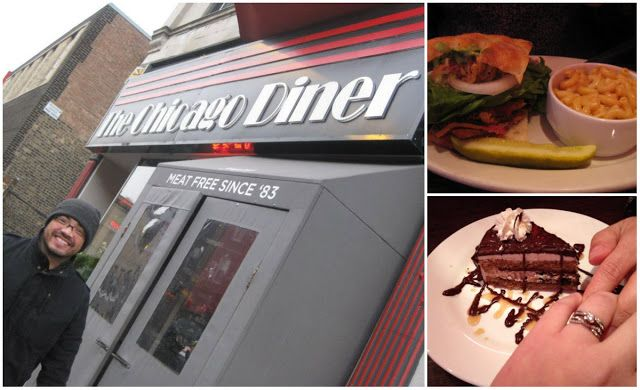 The Chicago Diner... is so good! I tried vegan food for the first time and it was delicious. I will be going there again for sure!