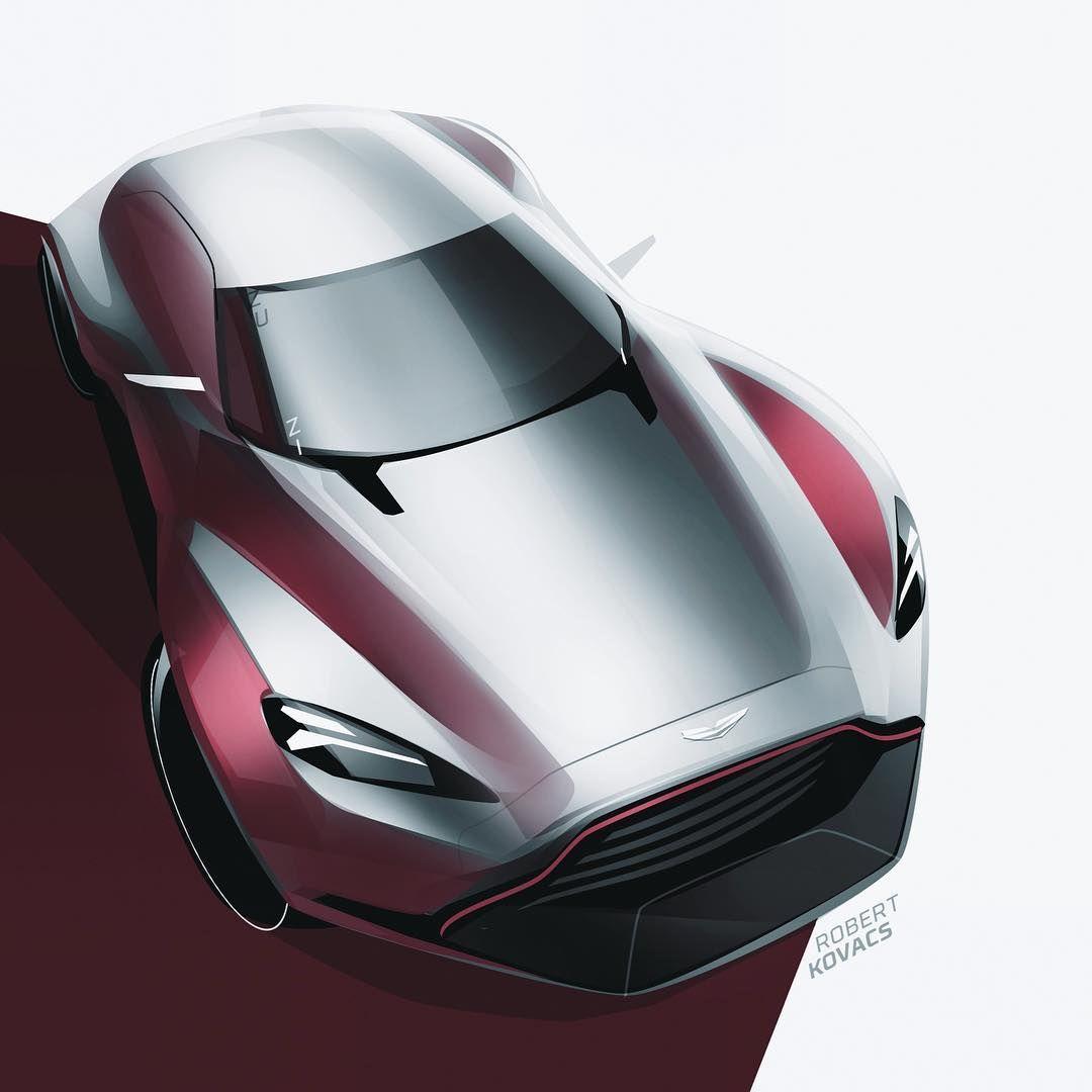 Aston Martin Sketch: 433 Curtidas, 4 Comentários