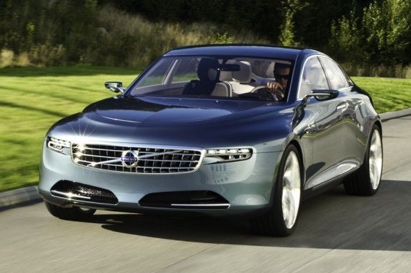 The new Volvo C90 Coupe has a four-cylinder engine VEA (Volvo ...