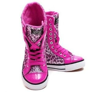 d531050bc1bea Amazon.com: Little Girls Trendy Shoes Pink Leopard Print Sparkle ...