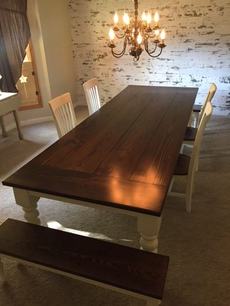 james james 10 l x 45 w baluster table with a traditional top and rh pinterest com