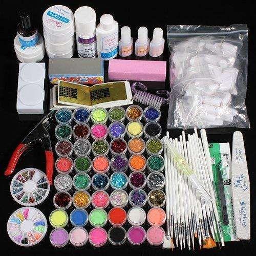 Productos Para Uñas De Gel Uñas De Gel Kit De Uñas Y