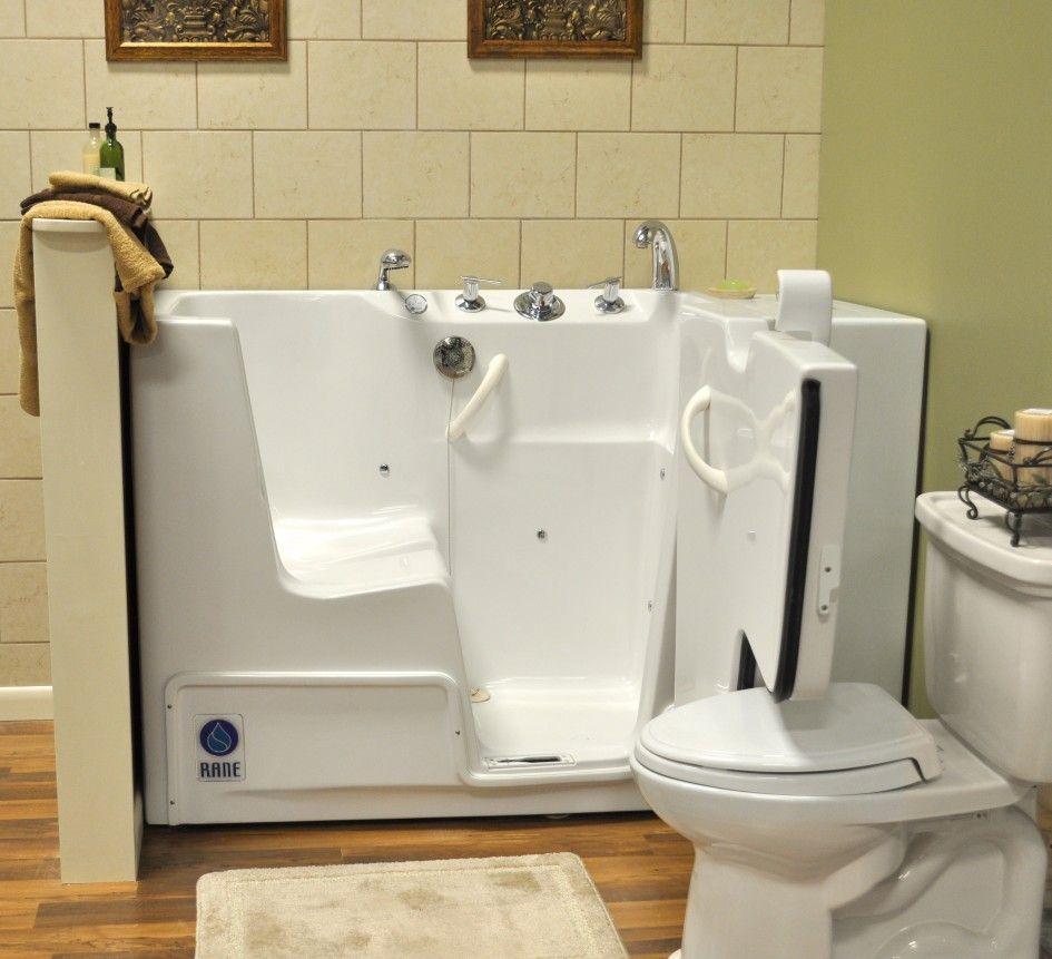 White Fiberglass Handicap Tubs Near White Porcelain Toilet ideas ...