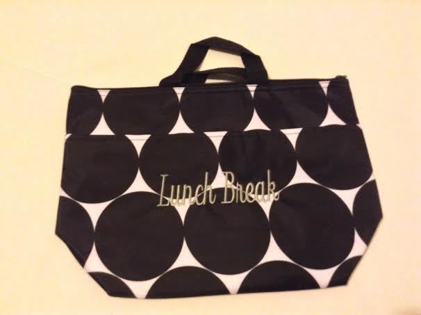 Thirty-One Thermal Lunch Break Tote Big Dot Pattern