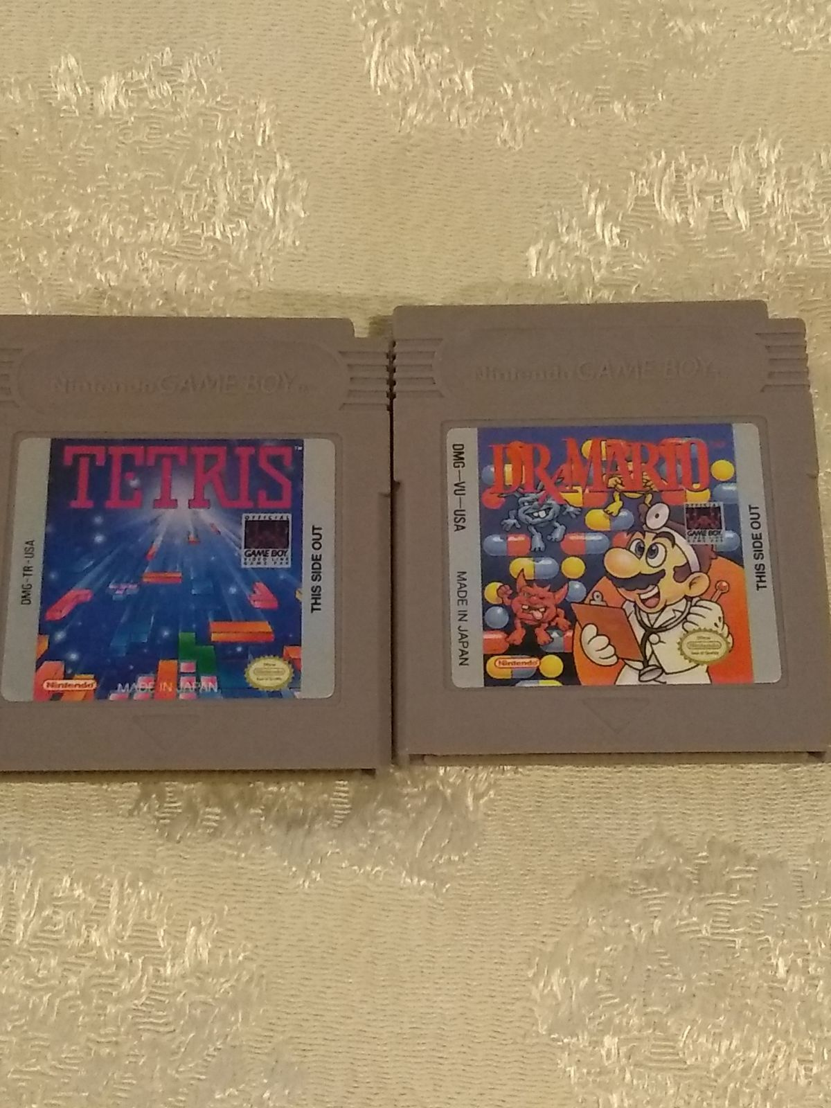 Nintendo Gameboy Tetris And Dr Mario Tested And Work Have Game