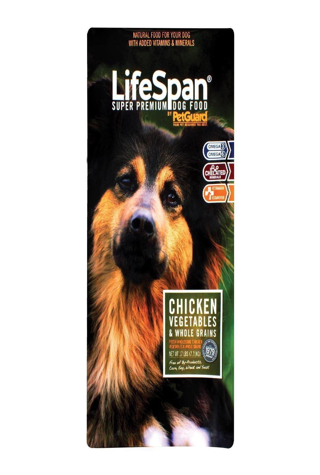 Petguard Dog Food Lifespan 17 Lb Dry Dog Food Dog Food