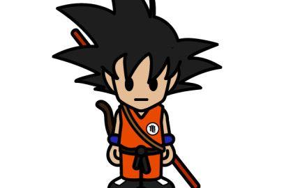 Unofficial Dragon Ball Z And BAPE Kid Goku Baby Milo Character