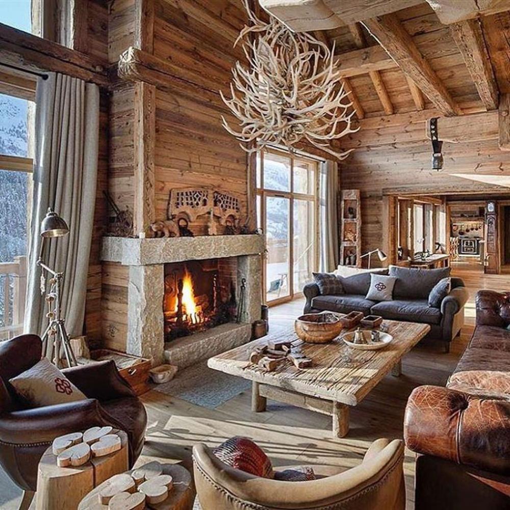 Ski Chalet Decorating Ideas: Ski Chalet, Cabin Homes, Cool House