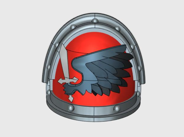 Black Wing - Gen3:Iron Left Shoulder x10 by matt_sweitzer