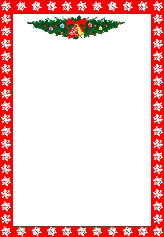 023 Christmas Borders Free Border Templates Moment Clipart