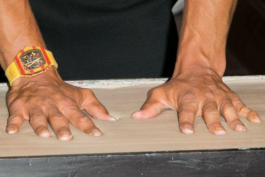 Rafa 🕉 Hands of a champion