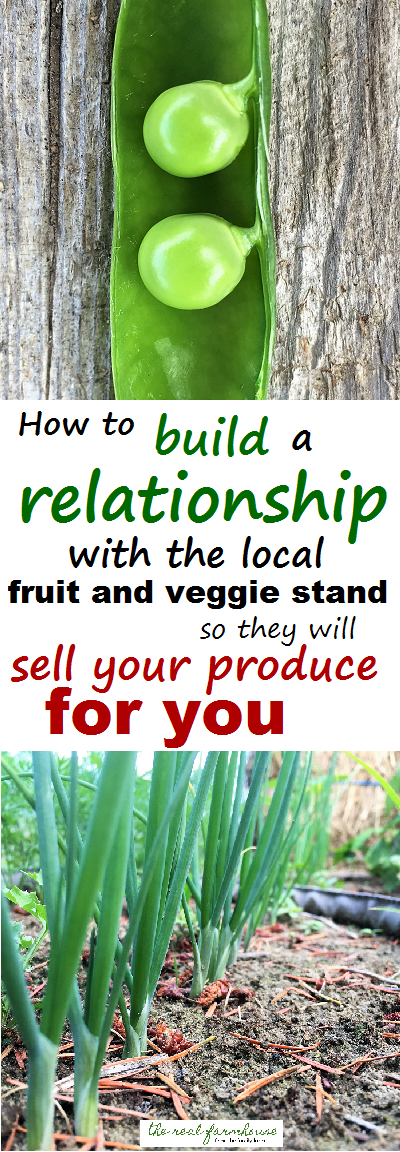 no more sitting at farmers markets selling your own stuff