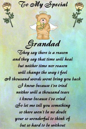 Grandad | Amanda | Grandpa quotes, Dad quotes, Funeral poems