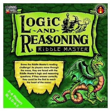 Logic & Reasoning Riddle Master by Edupress