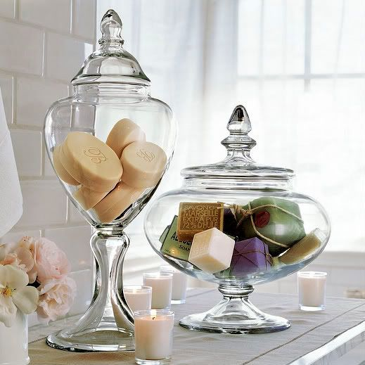 Filling Up The Apothecary Jar Ideas And Inspiration Badezimmerideen Badezimmer Inspiration Badezimmer Dekor
