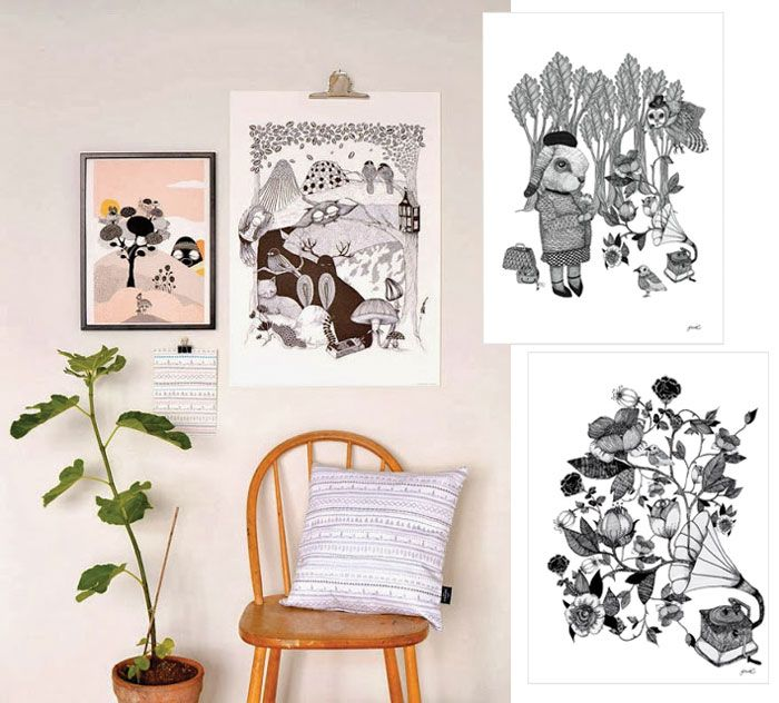 Feast Your Eyes Gorgeous Dining Room Decorating Ideas: Precious Little Things Poster-of-your