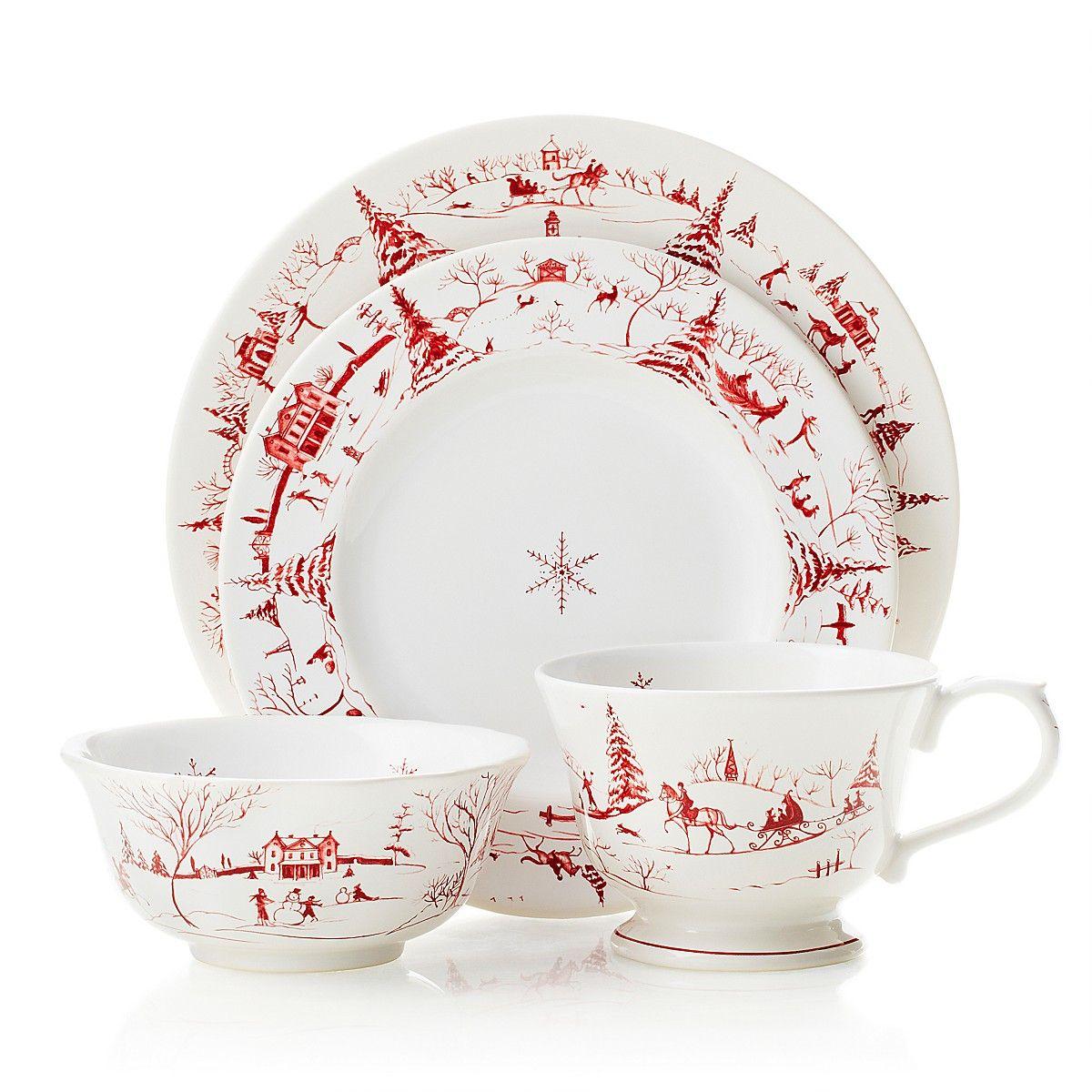 Juliska Country Estate Dinnerware, Ruby | Bloomingdale\'s | Christmas ...