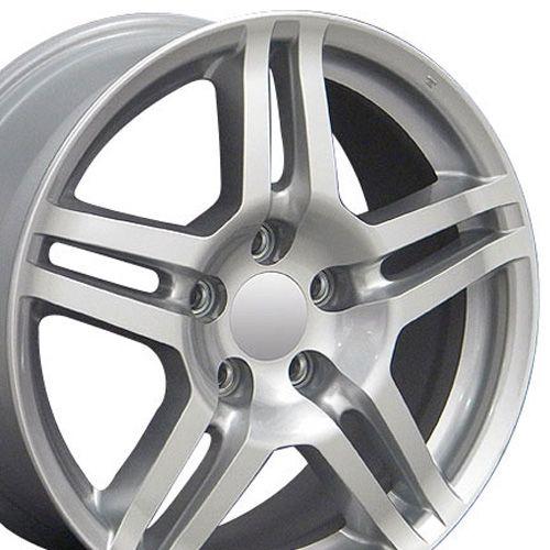 Fits Acura Rim AC04 17x8 Silver Acura Wheel