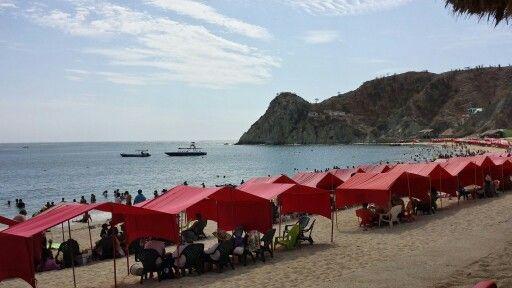 Playa blanca. Santa Marta