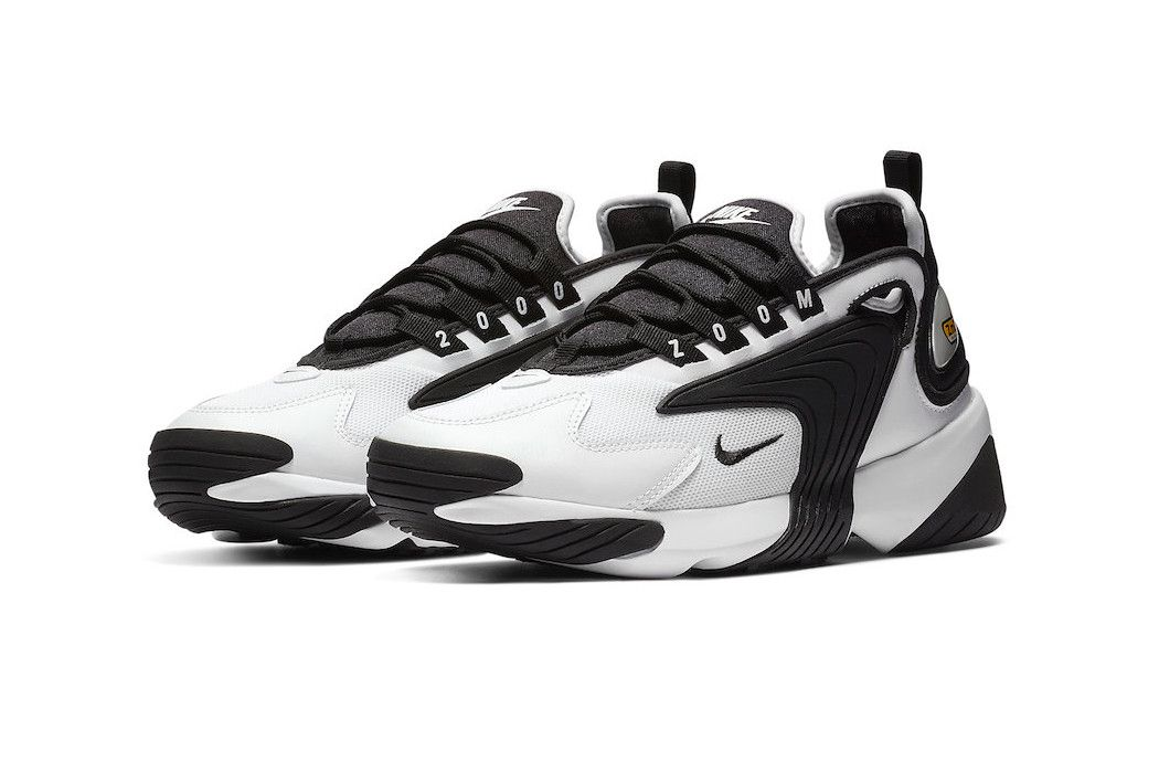 343e3a3d Nike Introduces the Zoom 2K Sneaker model first look black white colorway  purple pink women's price release date info