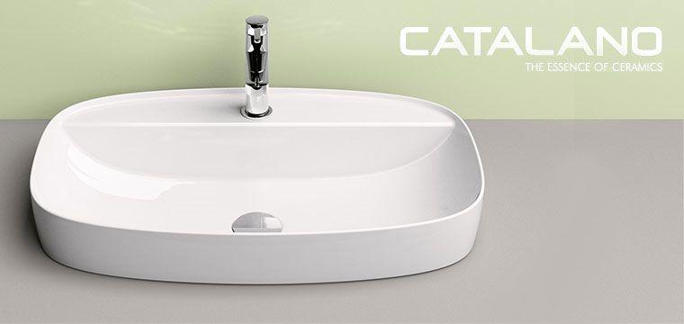 Ceramica Catalano Lavabi.Lavabi Greenlux Di Ceramica Catalano Guarda I Nuovi Modelli