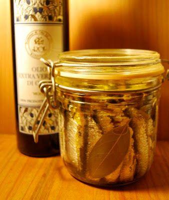 paccholife: 自家製アンチョビをオイル漬けに