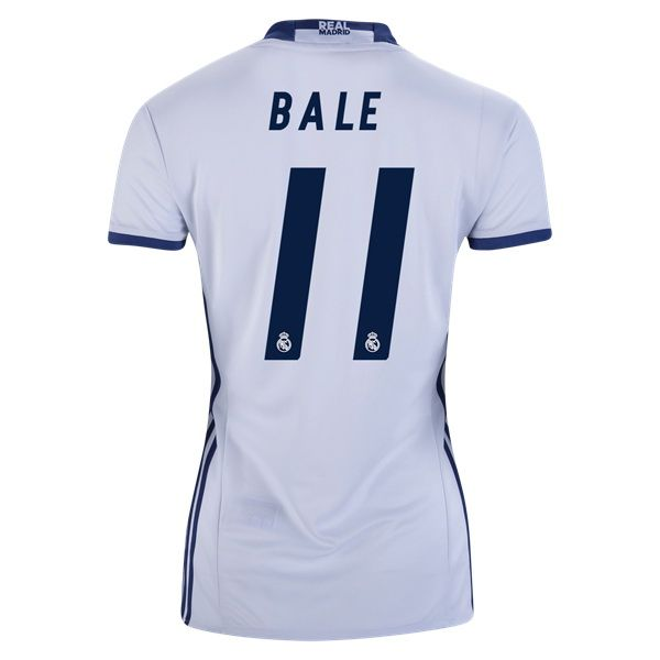 c033f7fe12d 2018 2019 Gareth Bale Jersey Number 11 Home Women s Real Madrid Team ...
