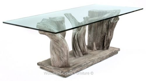 Modern Natural Wood Table By Woodland Creek Furniture In Custom Made Sizes Organic Modern Dining Table Natural Wood Table Modern Dining Table
