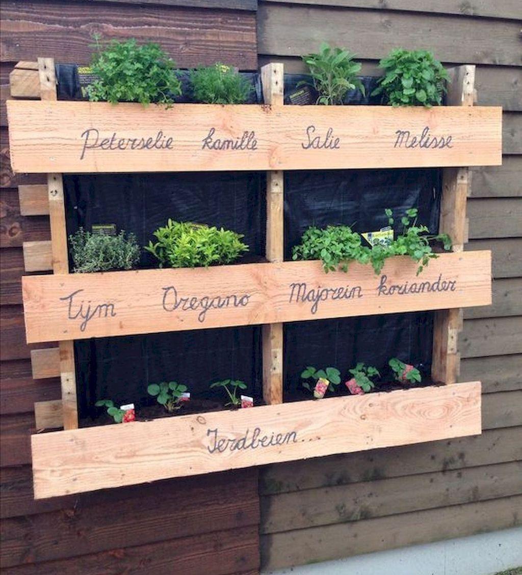 40 Captivating Vertical Garden Design Ideas That Looks Cool - Hoomdsgn - Gardening