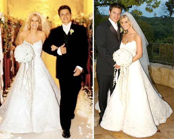 Jessica-Simpson-wedding-dress | Dream wedding | Pinterest ...