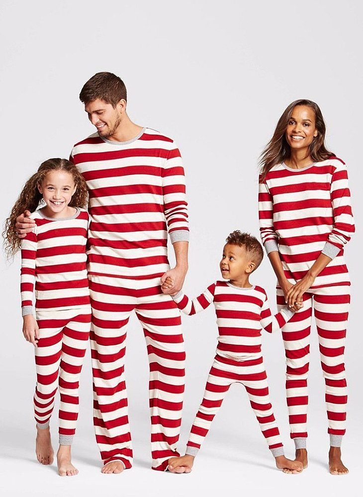 Striped Family Matching Christmas Pajamas (2031506916) in