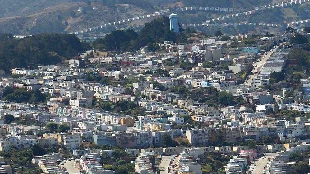 Map Median one bedroom rents across SF neighborhoods