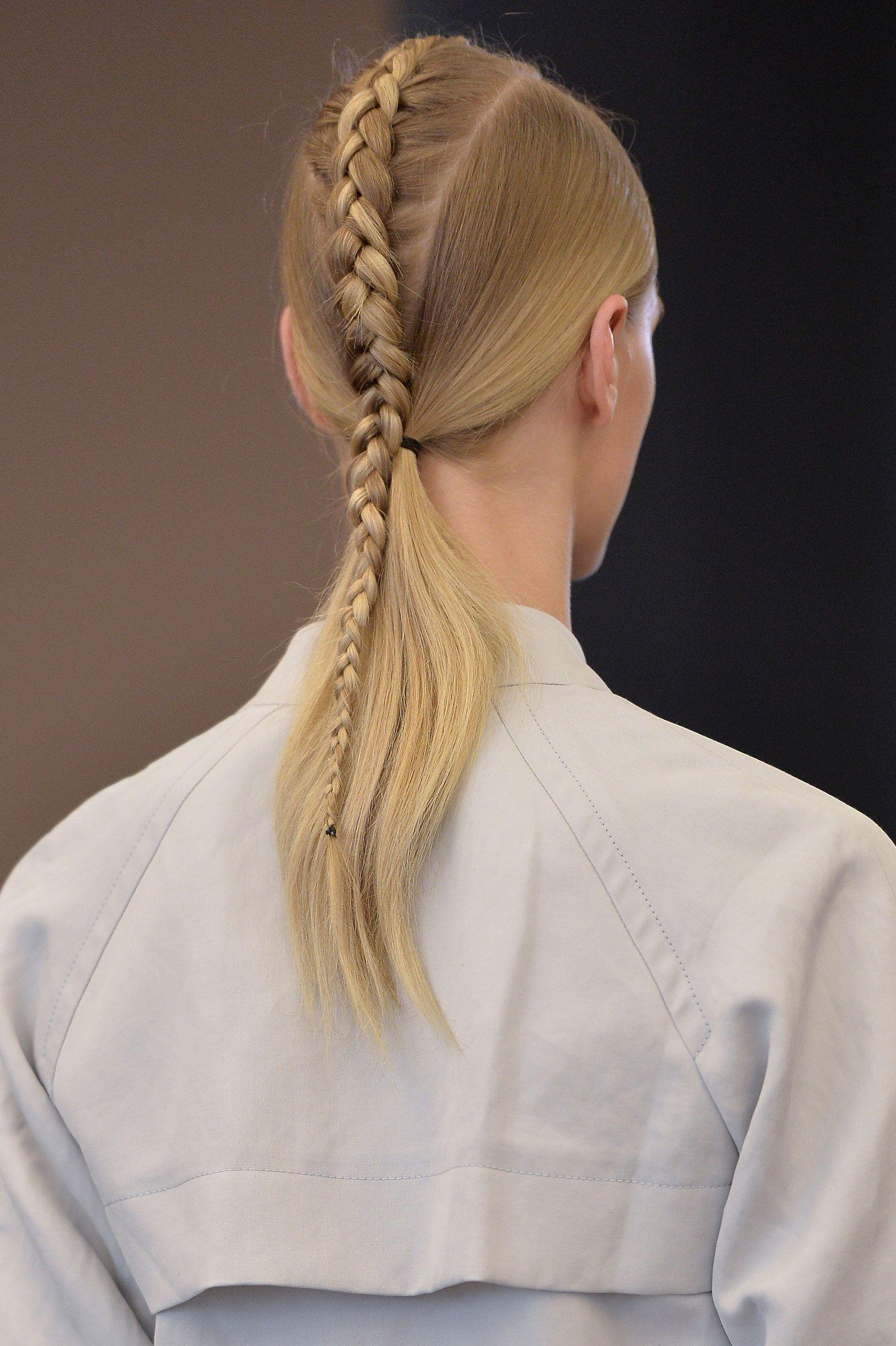 Victor alfaro spring ponytail hair inspiration and hair inspo