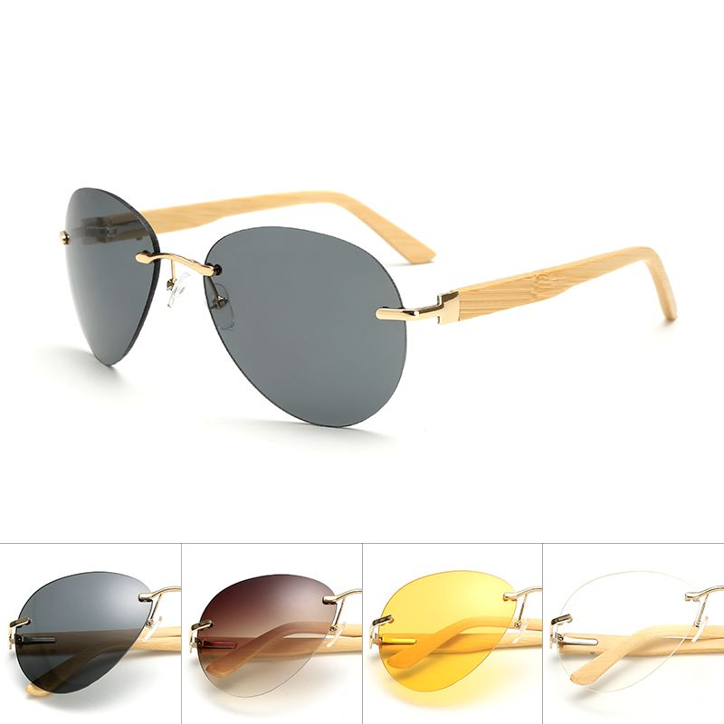 fcd592feb8 Fashion Silhouette Sunglasses Women Men Brand Designer Male Sun Glasses For Women  Sunglass wood Glasses oculos de sol  Affiliate