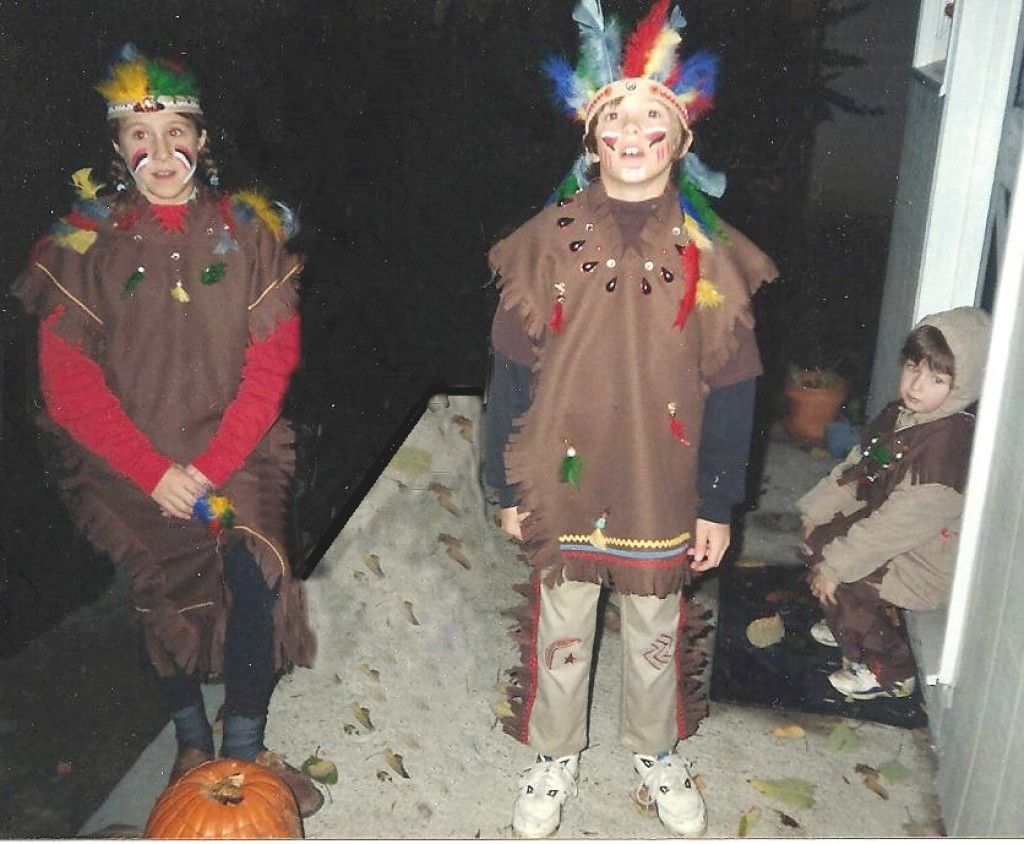 How to make your own homemade Native American Indian Halloween ...
